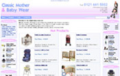 Classic Mother & Baby Weare - Pushchairs, Cots, High Chairs, Child Car Seats